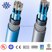 XLPE insulated PVC inner sheathed tinned copper wire braided shipboard power cable, type DA,SA