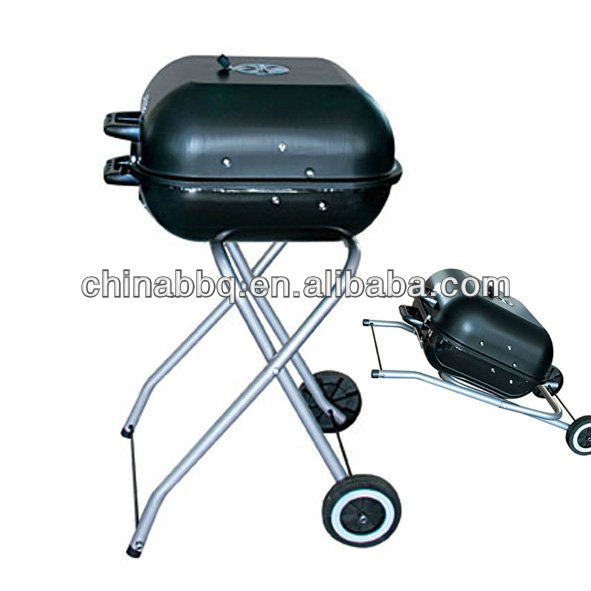 18 inch foldable BBQ charcoal grill with GS approval,barbecue of concrete,doner kebab machine