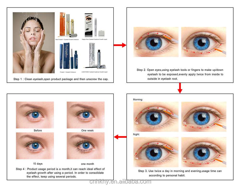 Eyelash Growth For Naturally Lashes Extension Enhancing Serum