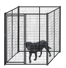 Large dog run chain link animal cage / chain link dog kennel panels