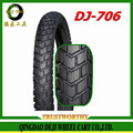 colored Motorcycle Tyre 4.00-18 High technical content 18 inch