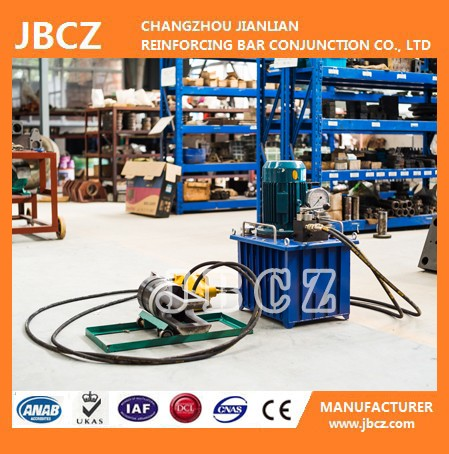 hydraulic grip rebar coupler machine for building material
