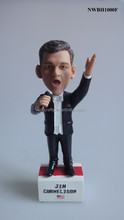 Wholesale Decorative Bobblehead Custom Singer Singing Music Bobble Head