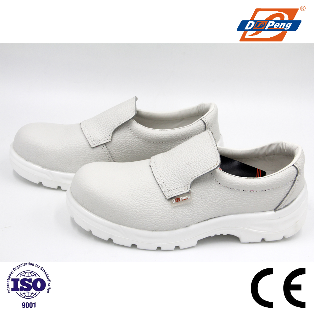white esd safety shoes with steel toe for hospital