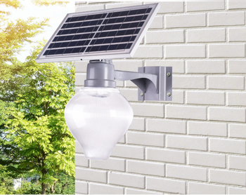 Accurates hot sale 2 years warranty 30W 50W sensor light apple solar light