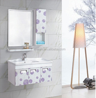 Cheap bathroom vanity set, wash hand basin mirror cabinet KD-15A