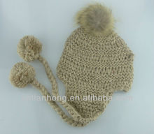 2014 knitted fashion crochet hat
