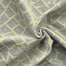 Textile material chenille fabric curtain material