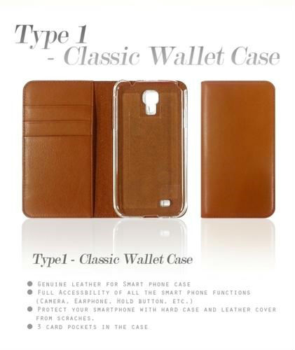Genuine Leather Classic Wallet Case