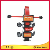 3d space wheel aligner/ce 3d diagnostic wheel aligner/3d wheel aligner machine for pit(SS-3D-2)