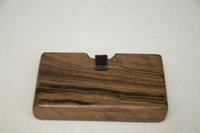 high quality natural handmade timber wood wallet