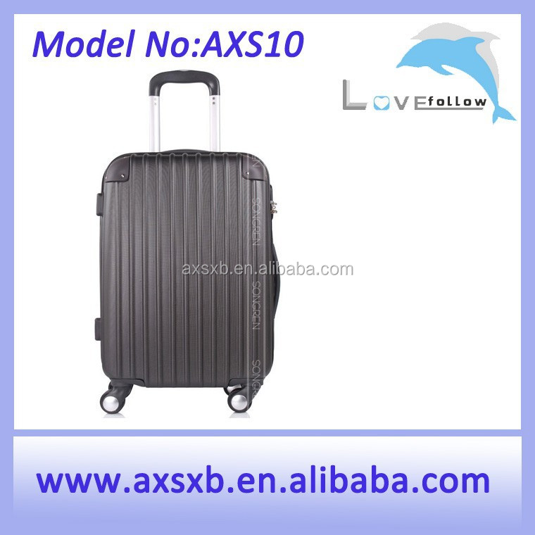 ABS 3 pcs set eminent 20 inch trolley suitcase travel bar suitcase travel tow trolley bag suitcase