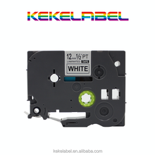 compatible Brother black on white P-touch Label tape cassette for Label Makers TZe231 TZe-231