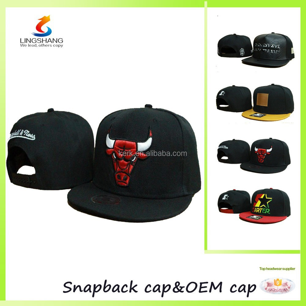 6 Panel with 3D embroidery craft hip-pop flat hats baseball <strong>cap</strong>