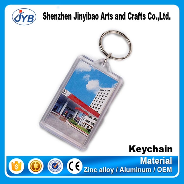 blank clear plastic key tags with ring