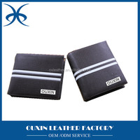 European customized brand foldable rfid safe wallet, rfid blocking bifold genuine leather travel wallet men manufacturer