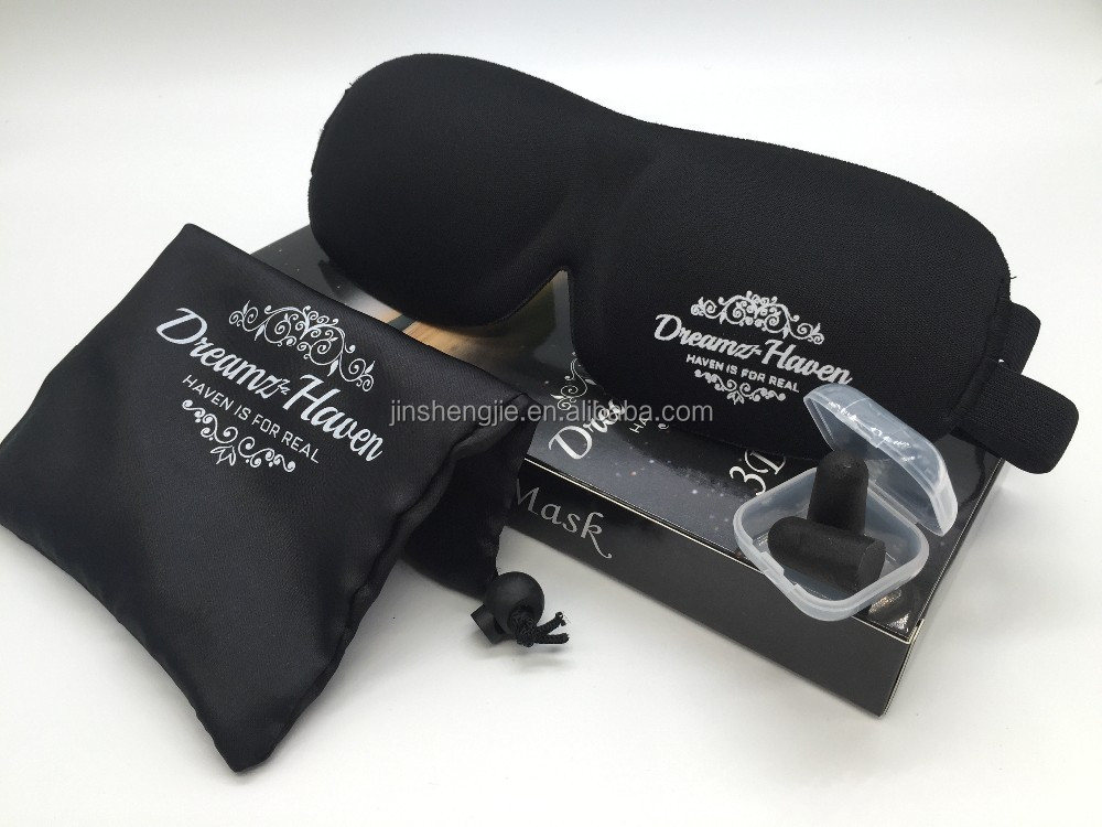 3D <strong>Eye</strong> Mask with Ear Plugs, 3D <strong>Eye</strong> Sleeping Mask, Silk <strong>Eye</strong> Sleeping Mask with Gel Pad Mask EM-015