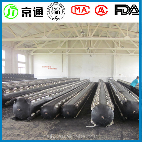 Jingtong Rubber best prices durable inflatable rubber airbag for construction