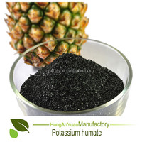Potassium Humate Column Granular PGR FOB/CIF Plant Root Growth Promoter with Humic Acid 80%& K2O 15% &100% Solubility
