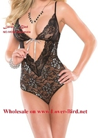 2015 Erotic mature lingerie very hot underwear sexy black teddy nighty