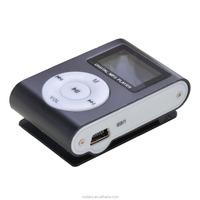 Economic Mini LCD Screen MP3 Player with clip
