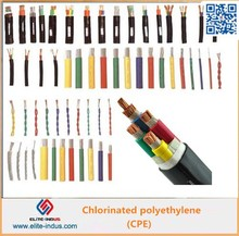 Chlorinated polyethylene CPE 135A for optical fiber protective jackets