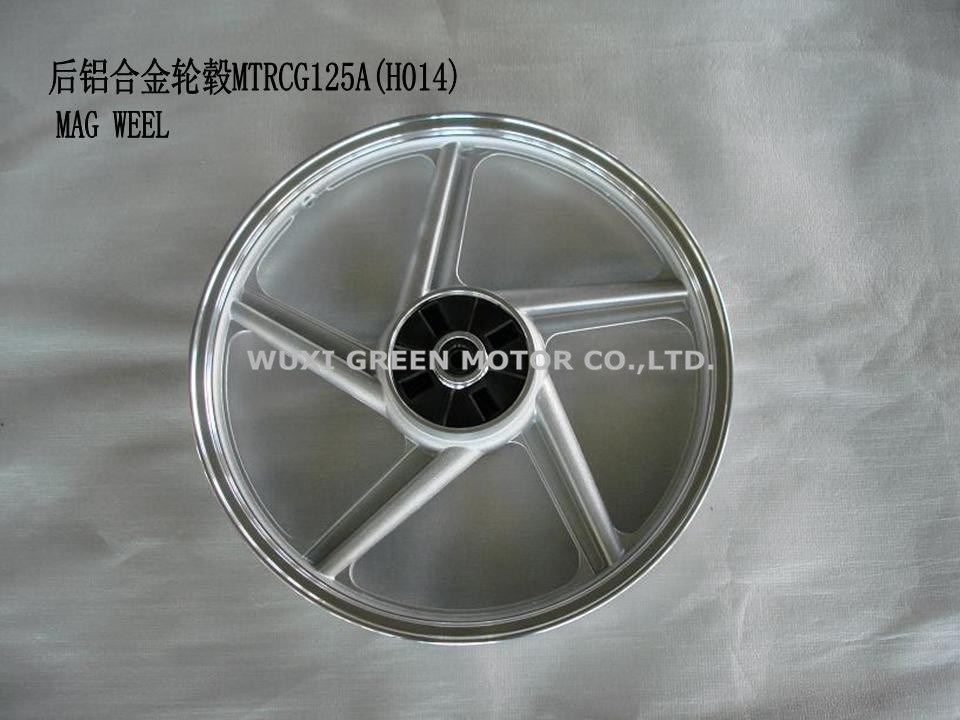 wheel aluminum CG125 motorcycle spare parts