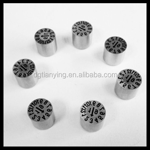 date time stamp molding of plastic parts spacers