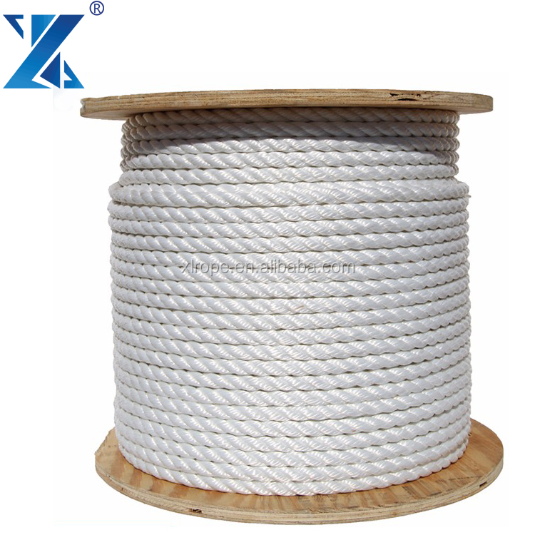 High quality trawler combination pp 3 strand fishing rope for sale