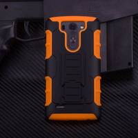 2016 Armor cover Shockproof Rugged Hybrid Impact Holster Hard Phone Case Stand Cover For LG G2 G3 G4 g5