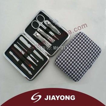 Lady Manicure Set with 9 pcs accessories