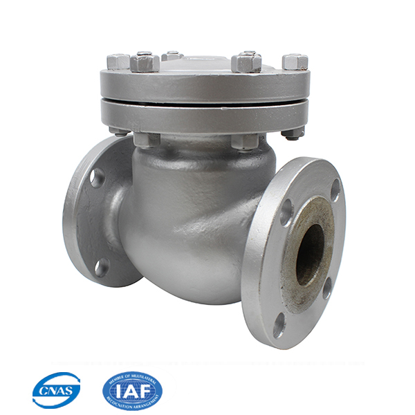 Factory supply CS/SS Forged nozzle swing check valve