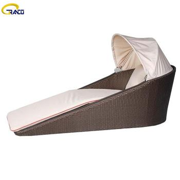 Modern fashion garden courtyard sun lounger high quality daybeds