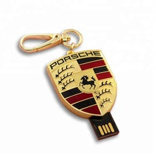 High Technology Round 2.0 3.0 Key Chain USB Flash Drives