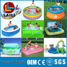 Portable Inflatable Giant Swimming Pool/Large outdoor inflatable swimming pool.