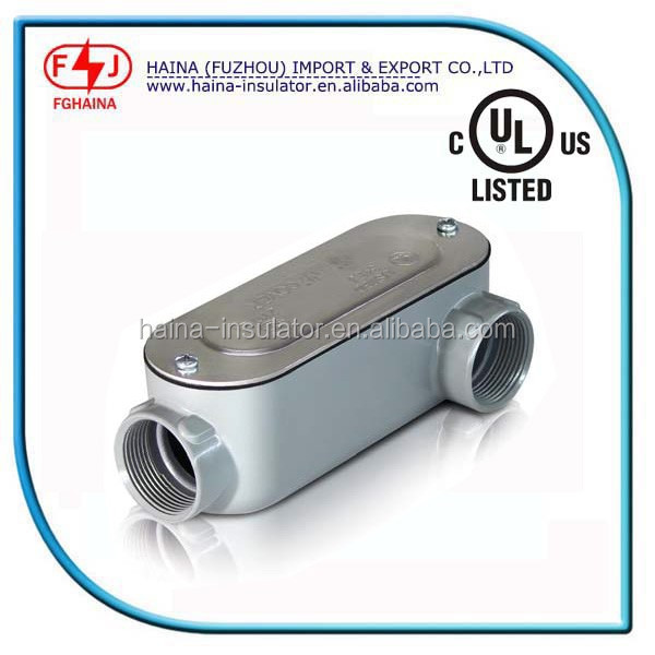 UL listed emt conduit body