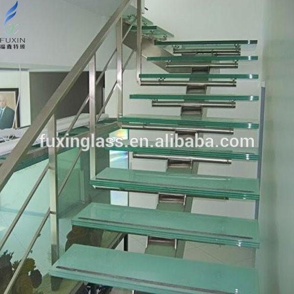 mm marche d 39 escalier verre verre de construction id de produit 500004739516. Black Bedroom Furniture Sets. Home Design Ideas