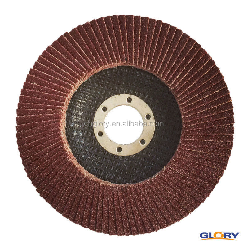 china cleaning tools Aluminum powder oxide fiber glass backing flap discs