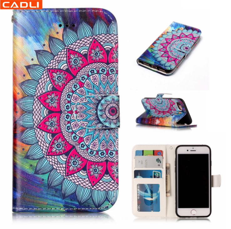 High Quality 3d silicone wallet Woman phone case 2017 for Samsung S7 edge