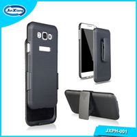 High quality full protective hybrid phone case for Samsung e7 with clip