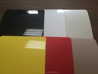 Solid Color PVC Decorative Film For Floor Tile Overlay Lamination