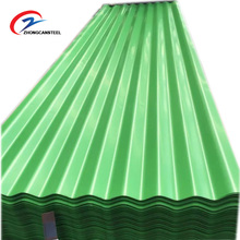 prepainted corrugated gi color roofing sheets / sheet metal / iron sheet tiles