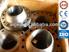 Shandong forged standard carbon steel round a105 transformer flange