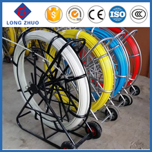 8mm Continous Tracing Duct Rodder, Detectable Fiberglass Cable Duct Rods