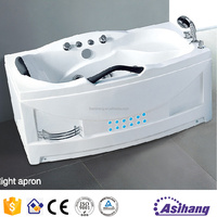 AS32130 high quality portable whirlpool bathtub with bath accessory