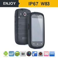 Simply W83 Portable ip6 waterproof rugged phone handheld device wireless MTK processor android os pos teminal with nfc reader