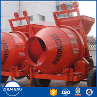 Brand New Climbing Bucket 350L Self loading Concrete Mixer