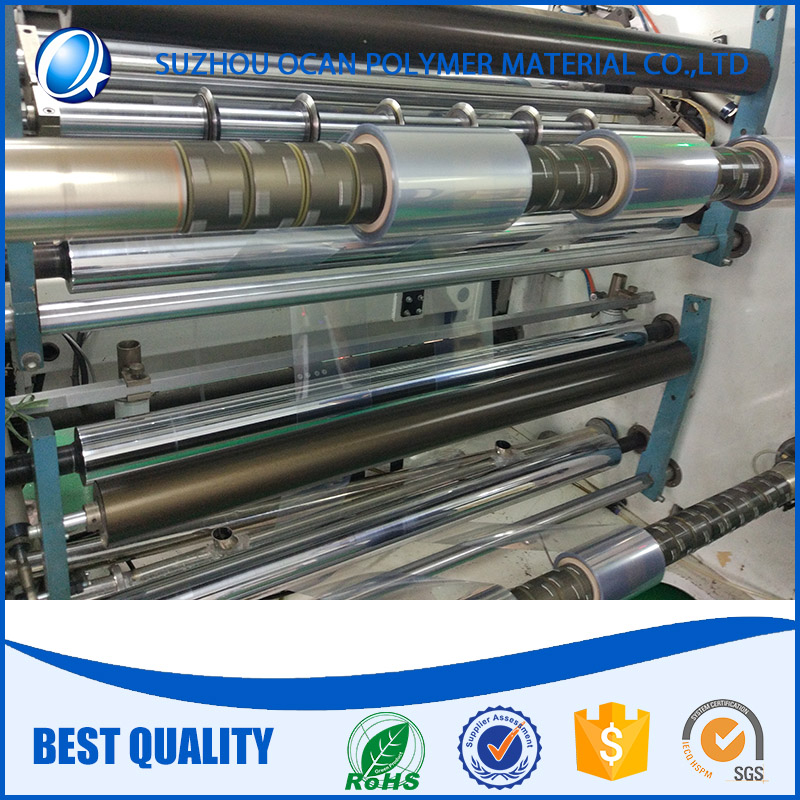 extruded PVC transparent film roll for offset printing
