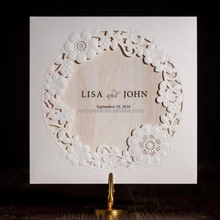 2017 unique laser cut letterpress wedding invitations