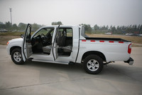 LHD pickup hydraulic brake mini gasoline truck with A/C